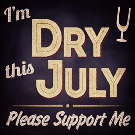 Dry July!
