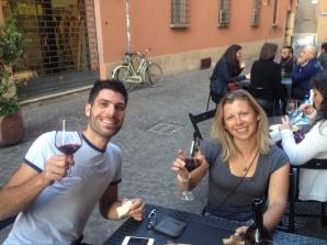 Sampling Bologna's finest with Matteo