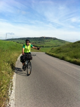Leaving Pienza... a favourite.