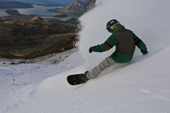 Treble Cone Opening day 2014
