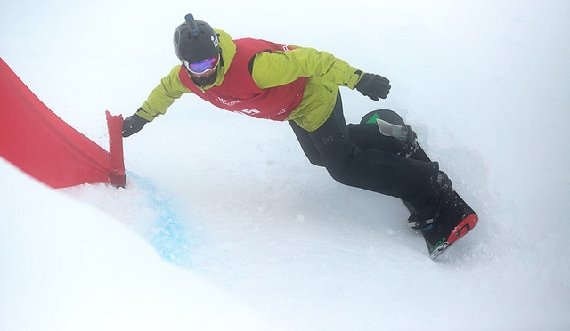 Image Treble Cone Marketing - Colin Boyd tearing it up