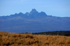 Mt Kenya looking to the South