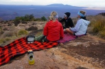 Sun downers with Tuskers