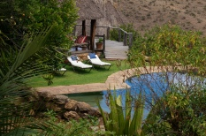 Borana pool side