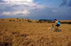 Mountain biking at Borana Lodge