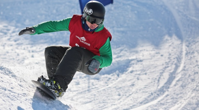 Treble Cone Banked slalom | Riding with Giants