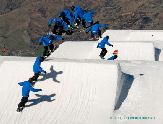 A new and comprehensive guide for teachers and snowboarders